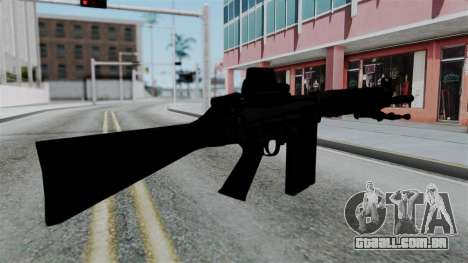 FN-FAL from CS GO with EoTech para GTA San Andreas segunda tela