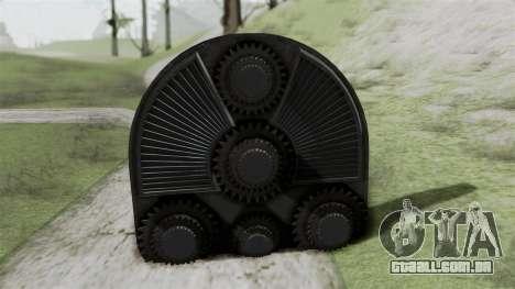 GTA 5 HVY Cutter para GTA San Andreas traseira esquerda vista