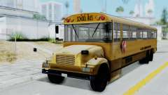 Bus from Life is Strange para GTA San Andreas
