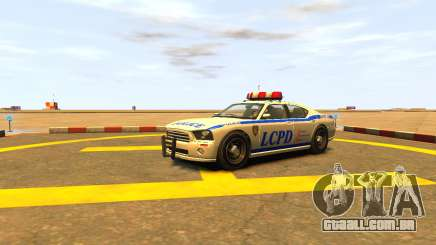 Bravado Buffalo Police Patrol [original wheels] para GTA 4