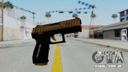 GTA 5 Online Lowriders DLC Combat Pistol para GTA San Andreas