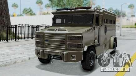 GTA 5 Brute Riot Police IVF para GTA San Andreas