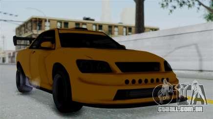 GTA 5 Karin Sultan RS Drift Big Spoiler PJ para GTA San Andreas