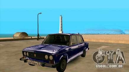 VAZ 2106 azul para GTA San Andreas