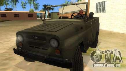 UAZ-469 Green para GTA San Andreas