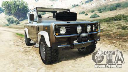 Land Rover Defender 110 Pickup para GTA 5