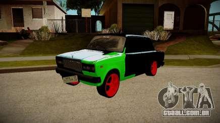 VAZ 2107 hobo para GTA San Andreas