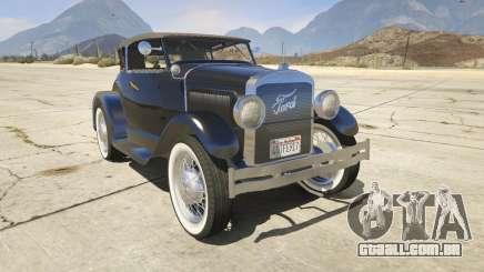 Ford T 1927 Roadster para GTA 5