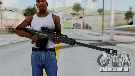 GTA 5 Heavy Sniper (M82 Barret) para GTA San Andreas
