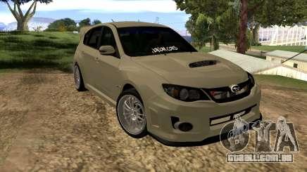 Subaru Impreza WRX STI 2008 LPcars v.1.0 para GTA San Andreas