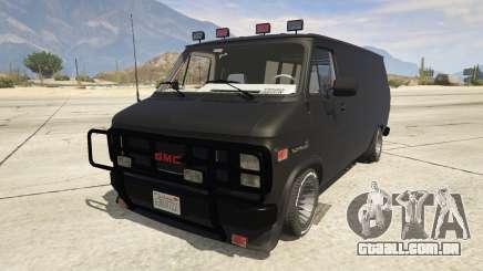 GMC Vandura (A-Team Van) para GTA 5