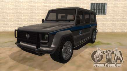 Benefactor Dubsta Jurassic World Security para GTA San Andreas