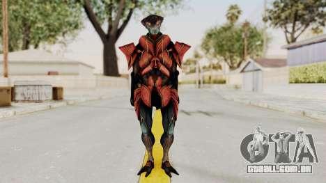 Mass Effect 3 Javik para GTA San Andreas segunda tela