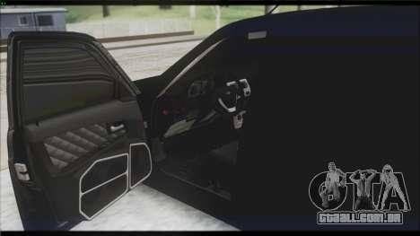 Lada Priora Sedan para GTA San Andreas vista inferior