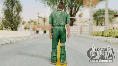 Manhunt 2 - Danny Prison Outfit para GTA San Andreas terceira tela