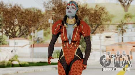 Mass Effect 2 Samara Red para GTA San Andreas