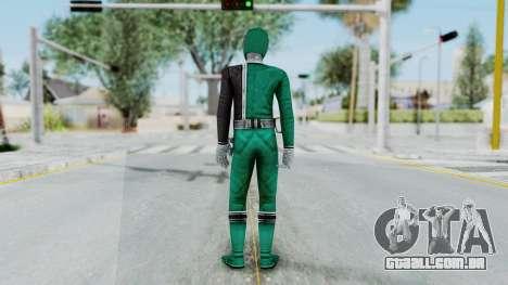 Power Rangers RPM - Green para GTA San Andreas terceira tela