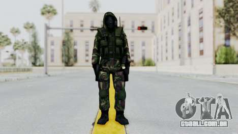Hodeed SAS 4 para GTA San Andreas segunda tela
