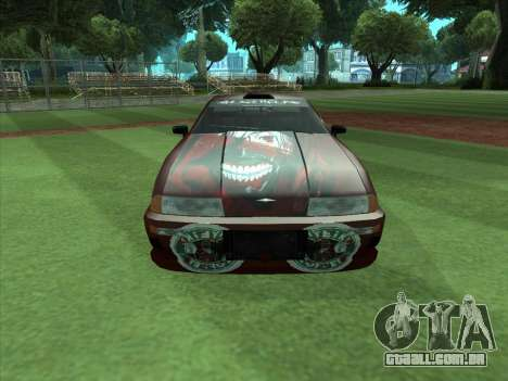 The Ghoul Elegy Vinyl (Beta) para GTA San Andreas vista direita