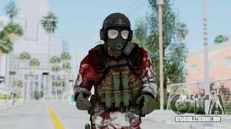 Black Mesa - Wounded HECU Marine v2 para GTA San Andreas