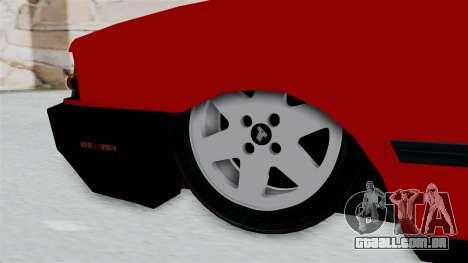 Tofas Dogan para GTA San Andreas traseira esquerda vista