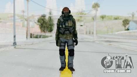 CoD AW KVA Assault para GTA San Andreas segunda tela