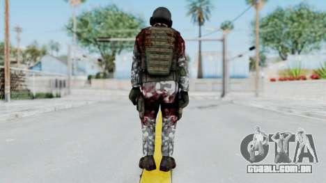 Black Mesa - Wounded HECU Marine v2 para GTA San Andreas terceira tela