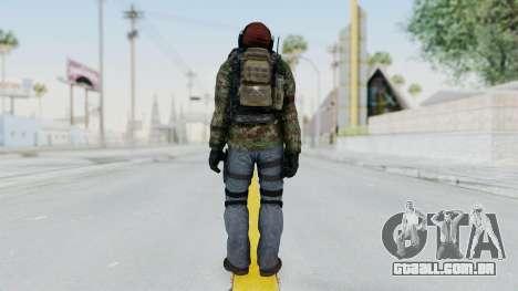 CoD AW KVA Assault para GTA San Andreas terceira tela