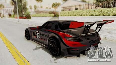 Mercedes-Benz SLS AMG GT3 PJ4 para as rodas de GTA San Andreas