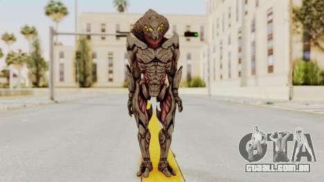 Mass Effect 3 Collector Awakened Adept MP para GTA San Andreas segunda tela
