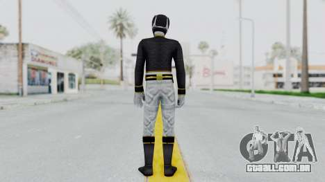 Power Rangers Megaforce - Black para GTA San Andreas terceira tela