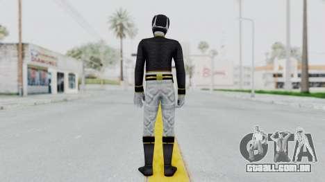 Power Rangers Megaforce - Black para GTA San Andreas terceira tela