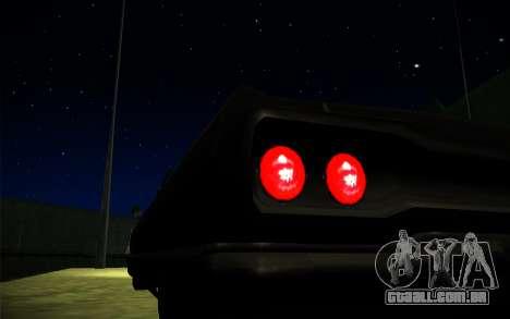 ENB Series by TURBO MIX para GTA San Andreas por diante tela