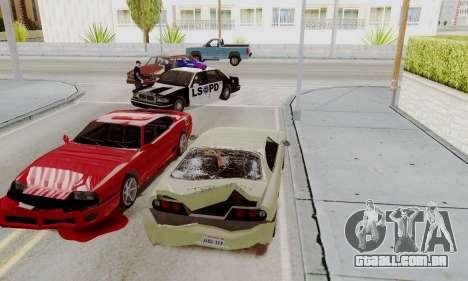 Chamar a polícia em caso de acidente para GTA San Andreas