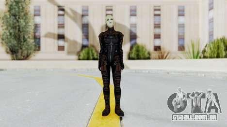 Mass Effect 1 Asari Clone Commando para GTA San Andreas segunda tela