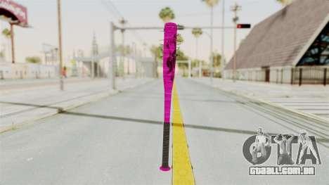 Nail Baseball Bat v4 para GTA San Andreas