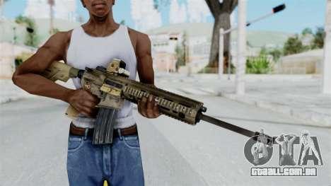 HK416A5 Assault Rifle para GTA San Andreas terceira tela