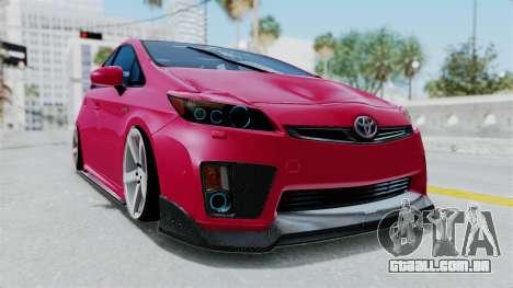 Toyota Prius 2011 Elegant Modification para GTA San Andreas