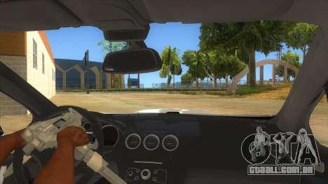 Peugeot 308 Full Sport para GTA San Andreas vista interior
