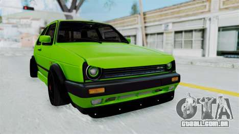 Volkswagen Golf Mk2 R36 para GTA San Andreas