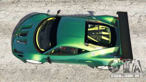 GTA 5 Ferrari 458 Italia GT2 voltar vista