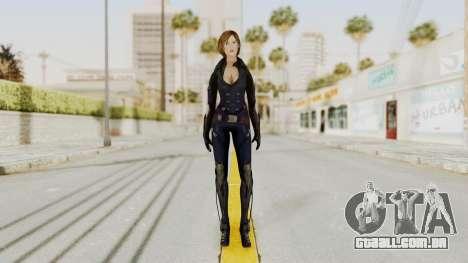 Ana from Metro Conflict para GTA San Andreas segunda tela