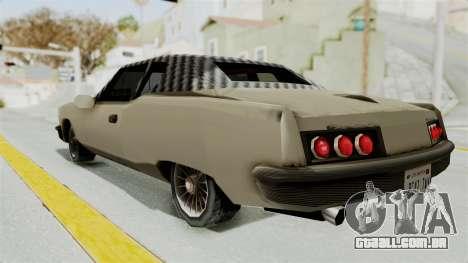Lobo Custom para GTA San Andreas esquerda vista