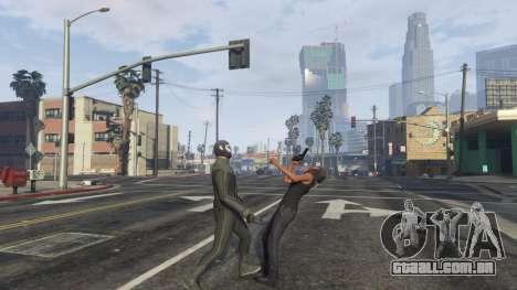 GTA 5 Amazing Spiderman - black suit quinta imagem de tela