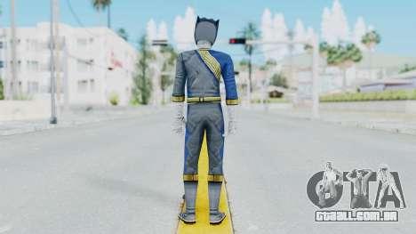 Power Rangers Wild Force - Wolf para GTA San Andreas terceira tela