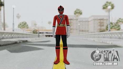 Power Rangers Samurai - Red 2 para GTA San Andreas segunda tela
