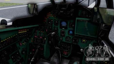 Mi-24V GDR Air Force 45 para GTA San Andreas vista interior