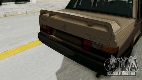 Volvo 740 para vista lateral GTA San Andreas