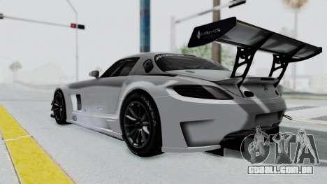 Mercedes-Benz SLS AMG GT3 PJ7 para GTA San Andreas esquerda vista