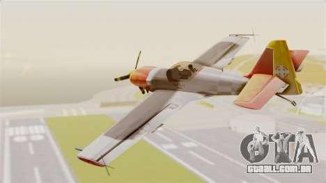 Zlin Z-50 LS v5 para GTA San Andreas esquerda vista